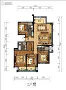 丁香花园玉泉苑4室2厅3卫207平方米户型图