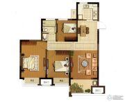 大华锦绣华城3室2厅1卫98平方米户型图