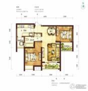 阳光100国际新城2室2厅1卫94平方米户型图