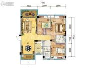 碧桂园・天玺湾3室2厅2卫115--125平方米户型图