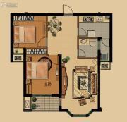金色雅筑2室2厅1卫0平方米户型图