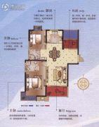 碧桂园梅公馆3室2厅2卫110平方米户型图