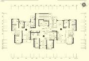 恒大名都3室2厅0卫99--115平方米户型图