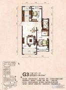 芭东海城2室2厅1卫115平方米户型图