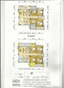 百盛公馆・世纪1号4室2厅2卫107平方米户型图