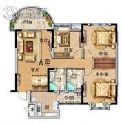 翡翠湾3室2厅2卫113平方米户型图