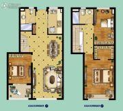 中航樾公馆3室2厅2卫97平方米户型图