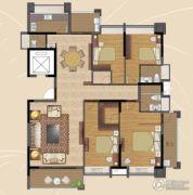 香景雅园4室2厅2卫170平方米户型图