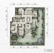 万科金色悦城4室2厅2卫140平方米户型图