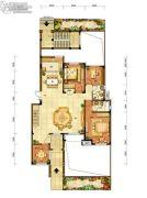 龙源山居3室2厅2卫0平方米户型图