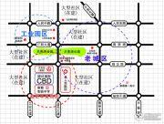 旭日・国际CBD交通图