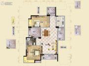 广基・自由星城3室2厅2卫0平方米户型图