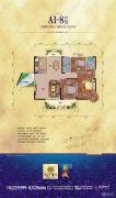 滨江豪园・新城3室2厅2卫143平方米户型图