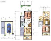 大理王宫别院2室1厅2卫79平方米户型图