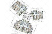 保利国际广场120--171平方米户型图