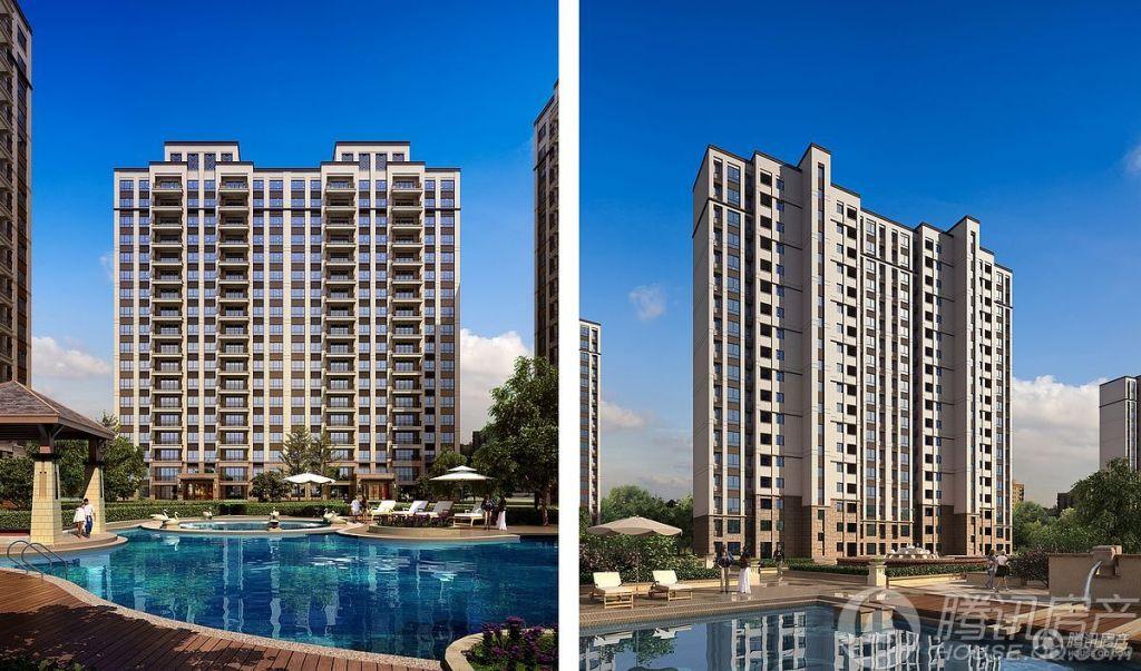 六盘水碧桂园1、5号楼效果图一曼哈顿风格
