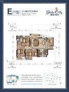 骋望�B玺5室2厅2卫136--143平方米户型图
