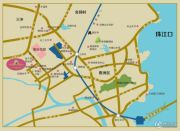 锦绣国际花城交通图