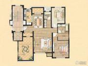 中星海上名豪苑四期御菁园2室2厅0卫118平方米户型图