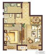 会展城上城1室1厅1卫0平方米户型图
