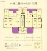 丹凤城・现代广场5室2厅2卫0平方米户型图