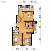 世百居・洪湖湾3室2厅1卫97平方米户型图
