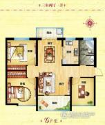 同祥城3室2厅1卫0平方米户型图