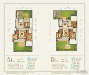 九洲绿城・翠湖香山3室2厅2卫118--126平方米户型图