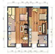 凯旋银河线1室1厅1卫41平方米户型图