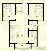 星河御城2室2厅1卫100平方米户型图