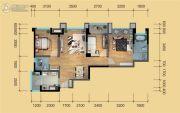 鹭洲国际二期3室2厅2卫90--99平方米户型图