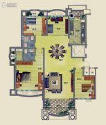 无锡碧桂园4室2厅2卫165平方米户型图