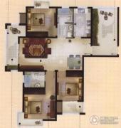 城置御水华庭3室2厅2卫141平方米户型图