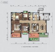 碧桂园・翘楚棠4室2厅2卫140--180平方米户型图