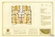 大同千禧御东画卷3室2厅2卫95--107平方米户型图