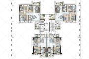 保利国际广场86--127平方米户型图