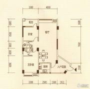 百福豪园2室2厅2卫96平方米户型图