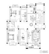 西堤阳光 多层3室2厅2卫120平方米户型图