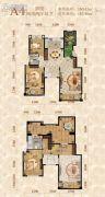 重庆桃源居国际花园4室2厅2卫160平方米户型图