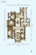 星河湾半岛4室2厅4卫274平方米户型图