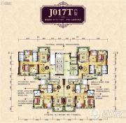 花溪碧桂园3室2厅2卫112--119平方米户型图