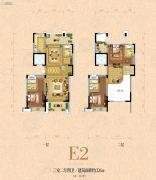 银河名苑3室2厅4卫226平方米户型图