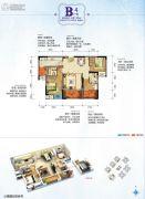 光亮天润城2室2厅2卫0平方米户型图