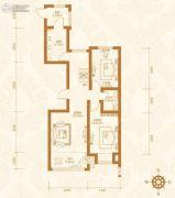 天鹅湾赫郡2室2厅1卫0平方米户型图