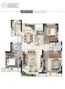 启迪协信・太古城3室2厅2卫125平方米户型图