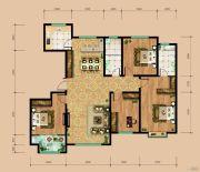 东岳国际4室2厅3卫283平方米户型图