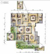 经典天成云墅5室3厅5卫0平方米户型图