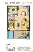 泰禾明�N厦门湾2室1厅1卫0平方米户型图