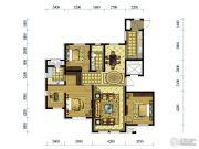 水韵豪庭4室2厅2卫153平方米户型图