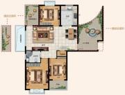 水韵天成3室2厅1卫0平方米户型图